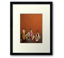 Jack, Francis & Peter Framed Print
