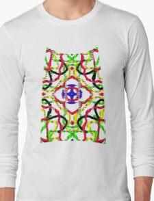 3D mandala Long Sleeve T-Shirt