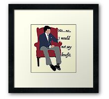 I wouldn't say benefit.  Framed Print