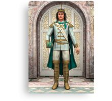 Prince in Fairytale Palace Canvas Print