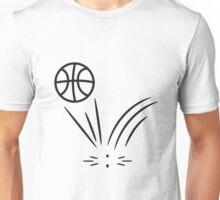 Basketball sports ball jump Unisex T-Shirt