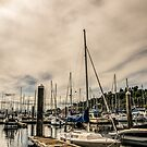 Home is where the boat is. by Ian Phares