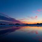 Cold Sunset by Jeff Stubblefield