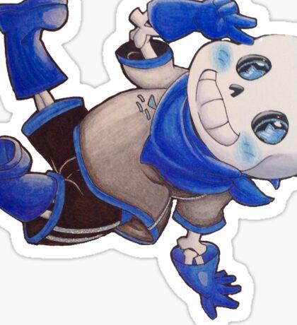 Blueberry Sans Sticker