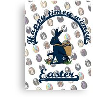 A Timey-Wimey Easter II Canvas Print