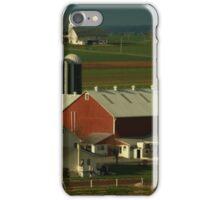 Amish Farm in PA iPhone Case/Skin