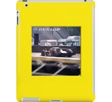 24 h de Le Mans - Vintage - Bentley #7 back iPad Case/Skin
