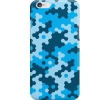 Digital Cammo Blue iPhone Case/Skin