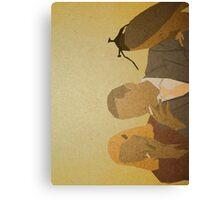 Richie & Margot Canvas Print