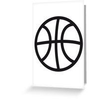 Basketball sport ball Greeting Card