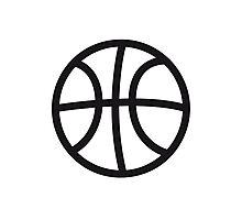 Basketball sport ball Photographic Print