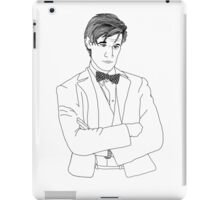 Doctor Who 11th doctor - Matt Smith iPad Case/Skin