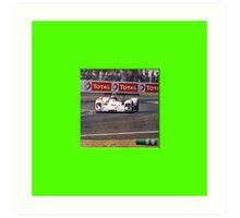 24 h de Le Mans - Vintage - Total Art Print