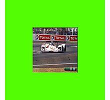 24 h de Le Mans - Vintage - Total Photographic Print