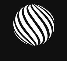 Abstract swirl sphere - version 2 - white Unisex T-Shirt