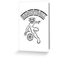 Basketball sport Greeting Card