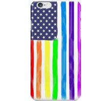 LGBT USA Pride Flag iPhone Case/Skin