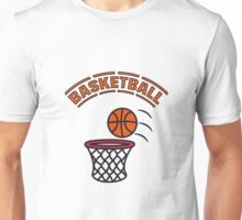 Basketball play basket Unisex T-Shirt