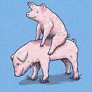 Piggy Back Ride by RonanLynam