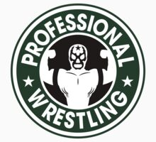 Pro Wrestling Starbucks by garywithrow