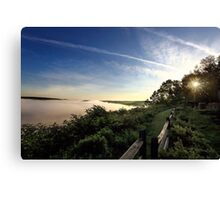 Allegheny Sunrise Canvas Print
