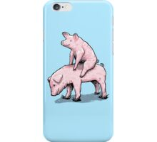 Piggy Back Ride iPhone Case/Skin