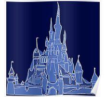 Disney Castle Poster