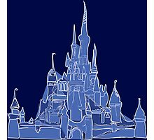 Disney Castle Photographic Print