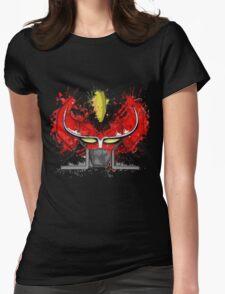 PAINT OG MEGAZORD Womens Fitted T-Shirt