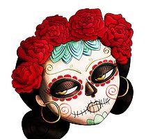 Dia de Los Muertos Beatiful Girl by colonelle