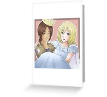 Yumikuri Greeting Card