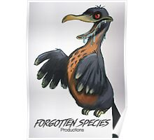"Forgotten Species Productions ""Zombie Dodo"" Poster Poster"