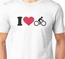 I love cycling Unisex T-Shirt