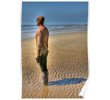 Gormley statue, hdr Poster