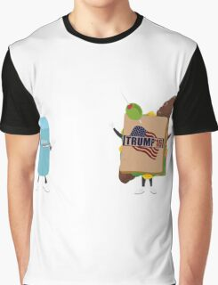 Election 2016 - Hillary v Trump Graphic T-Shirt