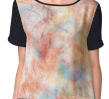 Different Brush Strokes for Different Folks Chiffon Top