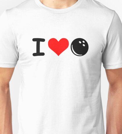 I love Bowling Unisex T-Shirt