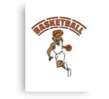 Basketball basket combat sports Canvas Print