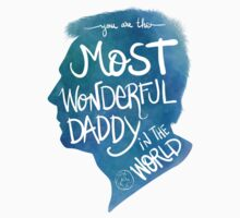 Most Wonderful Daddy in The World One Piece - Short Sleeve