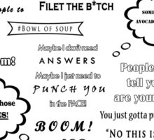 OUAT Quotes Sticker
