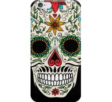 Floral Sugar Skull iPhone Case/Skin