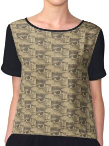 Going Out or Coming In? Chiffon Top