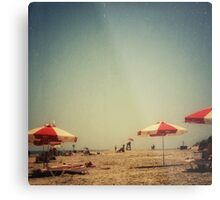 One Summer Day at the Beach Metal Print