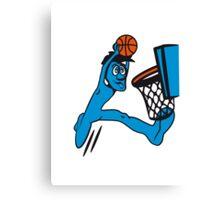 Basketball win basket sports Canvas Print
