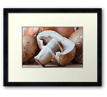 Noble Fungus Framed Print