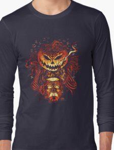 Pumpkin King Lord O Lanterns Long Sleeve T-Shirt