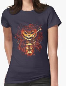 Pumpkin King Lord O Lanterns Womens Fitted T-Shirt
