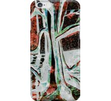 Black-Red Moonlight River Tree iPhone Case/Skin