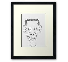 Barack Obama Framed Print