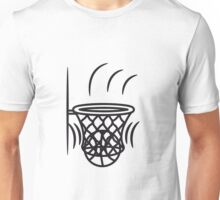 Basketball basket win point Unisex T-Shirt